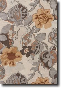 Blue-BL65-Taos Taupe Mustard Gold Hand-Tufted Area Rug