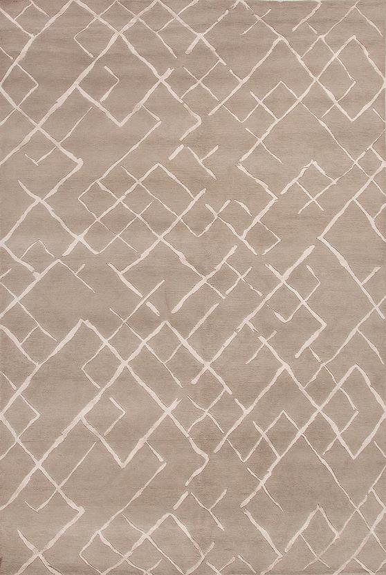 J2-J247-Silver Gray Silver Gray Hand-Knotted Area Rug