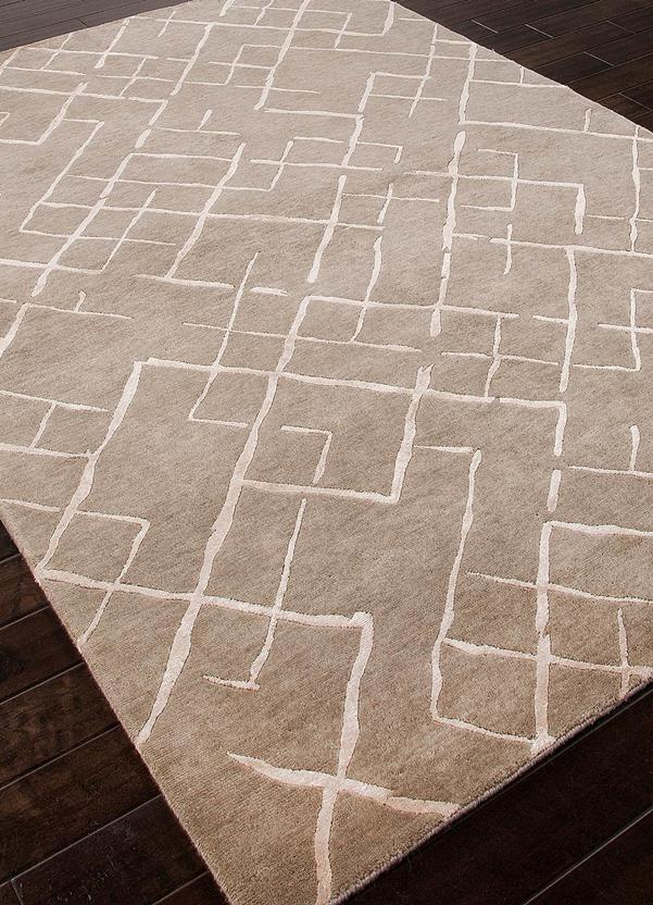 J2-J247-Silver Gray Silver Gray Hand-Knotted Area Rug collection texture detail