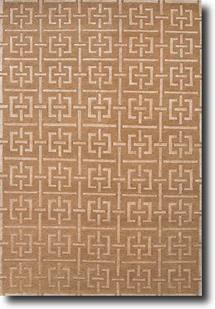 J2-J264-Tan White Sand Hand-Knotted Area Rug