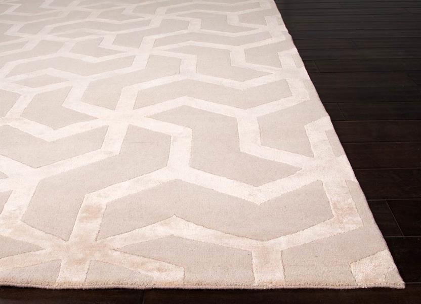 J2-J265-White Ice Ivory Mist Hand-Knotted Area Rug collection texture detail