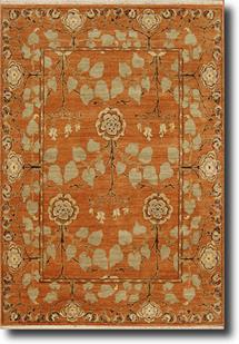 Opus-OP10-Pumpkin Hand-Knotted Area Rug