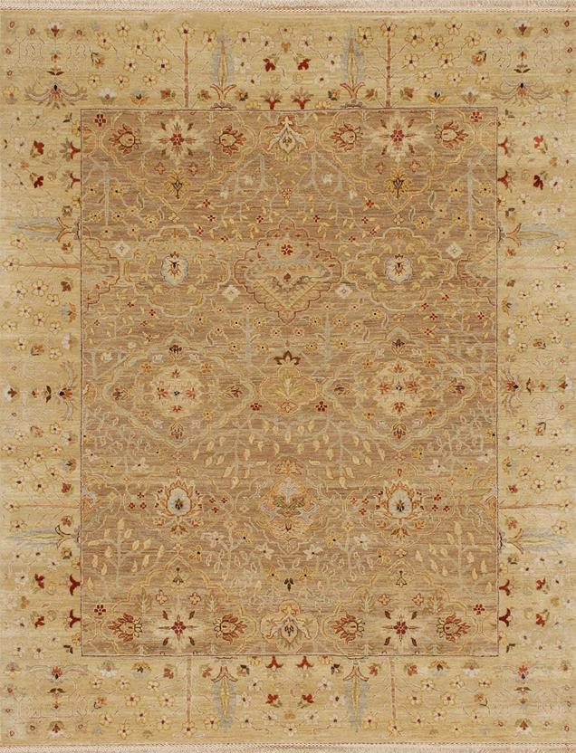 Opus op17 oatmeal soft gold hand knotted area rug for Alexanian area rugs