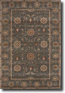Poeme-PM05-Jadeite & Dark Earth Hand-Tufted Area Rug