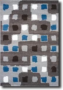 Como-11170-Silver Machine-Made Area Rug