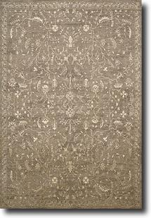 Silken Allure-SLK02-TAU Machine-Made Area Rug