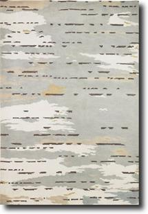 Essential Nature Knotted-EN30-Soft White Soft Grey Hand-Knotted Area Rug