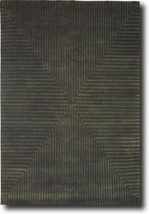 Maz 2000-M2071-Brown Hand-Knotted Area Rug