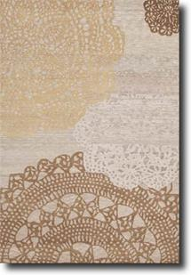 Earth-ER10-Silver Silver Hand-Knotted Area Rug