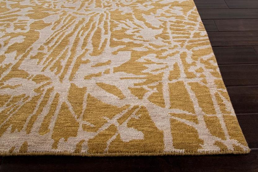 Earth-ER17-Golden Apricot Golden Apricot Hand-Knotted Area Rug collection texture detail